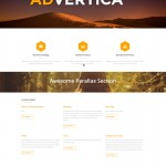 Advertica custom web template for your business in Phoenix Arizona