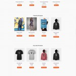 E-commerce web template example with Outflow Marketing in Arizona